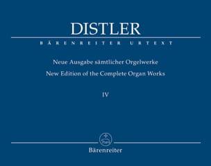 Neue Ausgabe Sämtlicher Orgelwerke Volume 4 Hugo Distler laflutedepan