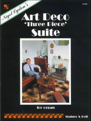 An Art-Deco Three Piece Suite - Nigel Ogden - laflutedepan.com