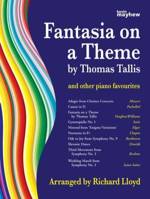 Fantasia on a Theme by Thomas Tallis and other piano favourites - laflutedepan.com