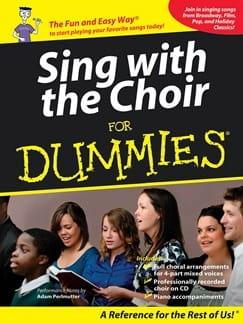Sing with the choir for Dummies Livre Chœur - laflutedepan