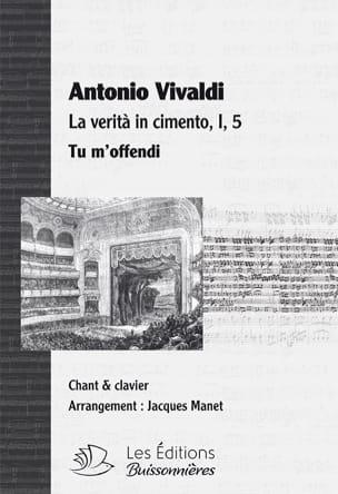 Tu m'offendi. La Verita in cimento RV 739 Antonio Vivaldi laflutedepan