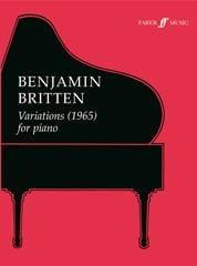Variations (1965) BRITTEN Partition Piano - laflutedepan