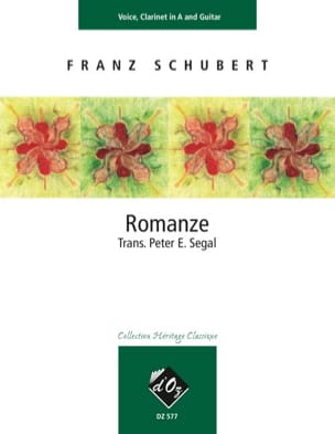 Romanze D 787 SCHUBERT Partition laflutedepan