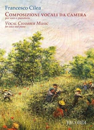 Composizioni Vocali Da Camera Francesco Cilea Partition laflutedepan