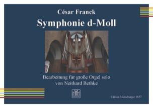 Symphonie en Ré mineur - César Franck - Partition - laflutedepan.com