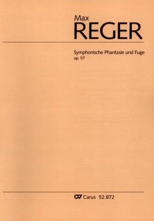 Symphonische Phantasie und Fugue Opus 57 Max Reger laflutedepan
