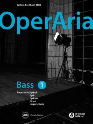 OperAria Basse - Volume 1 Partition Opéras - laflutedepan