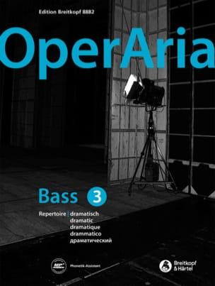 - OperAria Bass - Volume 3 - Sheet Music - di-arezzo.com