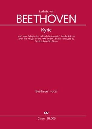 Kyrie - Ludwig van Beethoven - Partition - Chœur - laflutedepan.com
