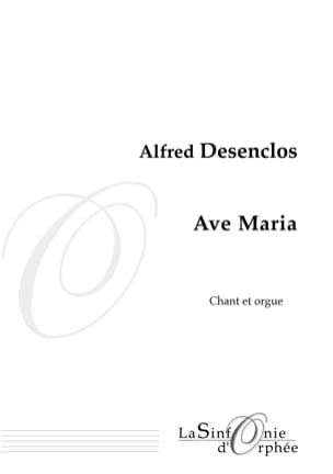 Alfred Desenclos - Ave Maria - Sheet Music - di-arezzo.co.uk
