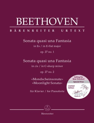 Ludwig van Beethoven - Piano Sonatas No. 13 and 14 Opus 27. Limited Edition - Sheet Music - di-arezzo.com
