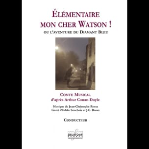 Jean-Christophe Rosaz - Elementary my dear Watson! - Sheet Music - di-arezzo.co.uk