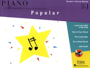 Piano Adventures - Popular niveau 1 Nancy & Randall Faber laflutedepan