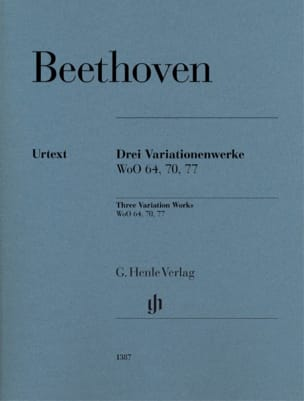 3 Variationenwerke - BEETHOVEN - Partition - Piano - laflutedepan.com