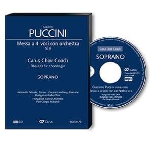 Messa a 4 voci con orchestra SC 6. CD (MP3). Alto PUCCINI laflutedepan