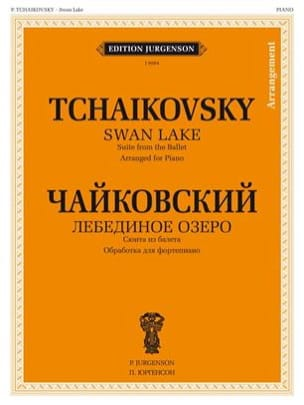 Tchaikovsky - Swan Lake (Ballet Suite) - Sheet Music - di-arezzo.co.uk