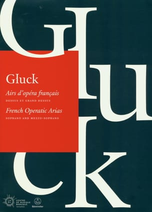 Christoph Willibald Gluck - Airs of French Opera. Top and Big Top - Sheet Music - di-arezzo.com