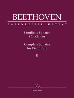 Ludwig van Beethoven - Piano Sonatas - Volume 2 - Partition - di-arezzo.co.uk