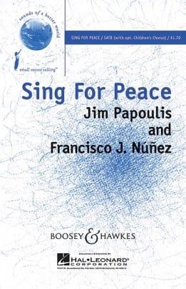 Sing for peace - Jim / Nunez Francisco Papoulis - laflutedepan.com