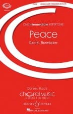 Peace - Daniel Brewbaker - Partition - Chœur - laflutedepan.com