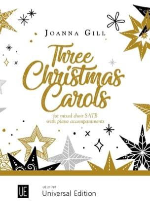 3 Christmas Carols Joanna Gill Partition Chœur - laflutedepan