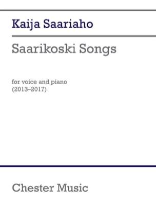 Kaija Saariaho - Saarikoski Songs - Sheet Music - di-arezzo.co.uk
