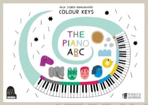Colour Keys the piano ABC (Book B) - Elève laflutedepan
