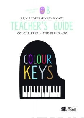 Colour Keys the Piano ABC (Volume B) - Teacher's Guide laflutedepan