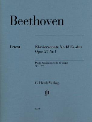 Sonate Pour Piano N° 13 En Mi Bémol Majeur Opus 27 No. 1 laflutedepan