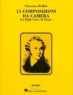 Vincenzo Bellini - 15 Composizioni Da Camera - Partition - di-arezzo.com