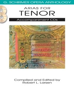 Compositeurs Divers - Arias for Tenor. CD Accompaniment - Sheet Music - di-arezzo.co.uk