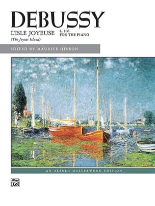 Claude Debussy - Isle Joyeuse - Sheet Music - di-arezzo.co.uk