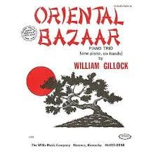 Oriental Bazaar. 6 mains William Gillock Partition laflutedepan