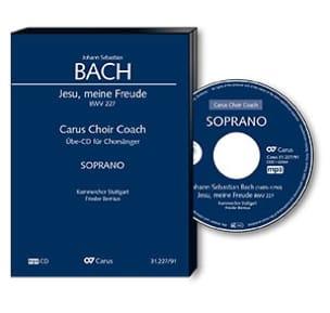 Jesu, meine Freude Bwv 227. CD Soprano - BACH - laflutedepan.com