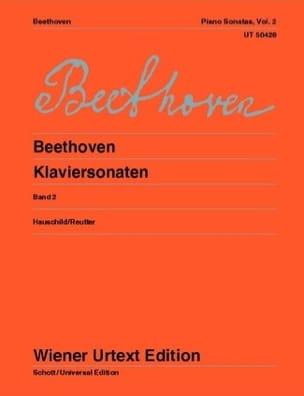 BEETHOVEN - Sonate per pianoforte - Volume 2 - Partitura - di-arezzo.it