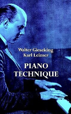 Piano Technique Walter / Leimer Karl Gieseking Livre laflutedepan