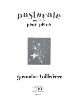 Germaine Tailleferre - Pastoral In A flat - Partition - di-arezzo.co.uk