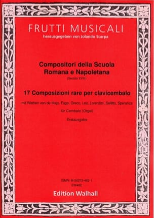 - 17 Rare Compositions for the Harpsichord - Sheet Music - di-arezzo.co.uk