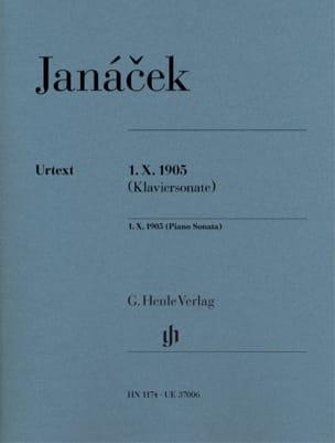 Leos Janacek - Sonata 1 X 1905 - Partition - di-arezzo.com