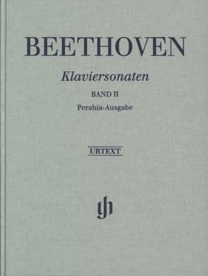 Sonates Pour Piano, Volume 2 - Edition Reliée BEETHOVEN laflutedepan