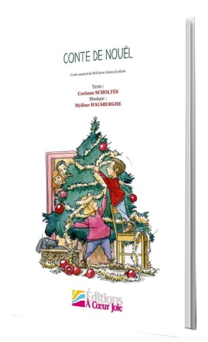 Mylène Halsberghe - Christmas tale - Sheet Music - di-arezzo.com