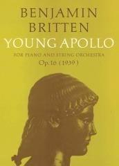 Young Apollo Opus 16 (partie soliste) BRITTEN Partition laflutedepan