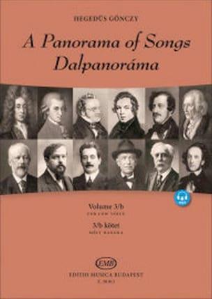 A Panorama of Songs - Volume 3B - Voix grave - laflutedepan.com