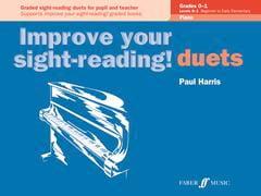 Paul Harris - Improve your sight - reading! Piano Duets Grades 0-1 - Sheet Music - di-arezzo.com