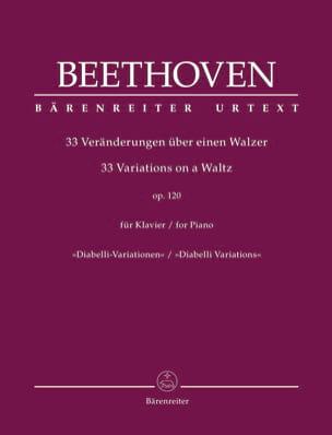 Variations Diabelli Ut Majeur Opus 120 BEETHOVEN laflutedepan