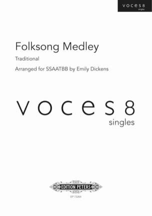 Folksong Medley Anonyme Partition Chœur - laflutedepan