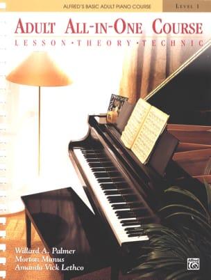 Manus / Amanda Vick Lethco Morton - Alfred's Basic Adult All-in-One Course Book 1 - Sheet Music - di-arezzo.com