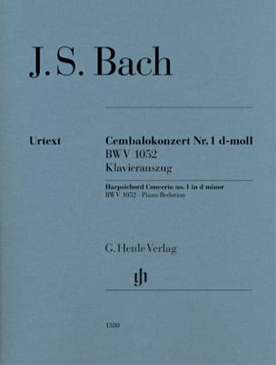 Johann Sebastian Bach - Keyboard Concerto In D Minor BWV 1052 - Sheet Music - di-arezzo.co.uk