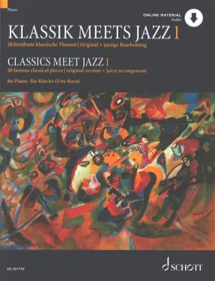 Divers / Korn - Klassik se encuentra con el volumen de jazz 1 - Partition - di-arezzo.es