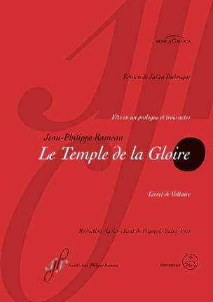 Jean-Philippe Rameau - The Temple of Glory - Sheet Music - di-arezzo.com
